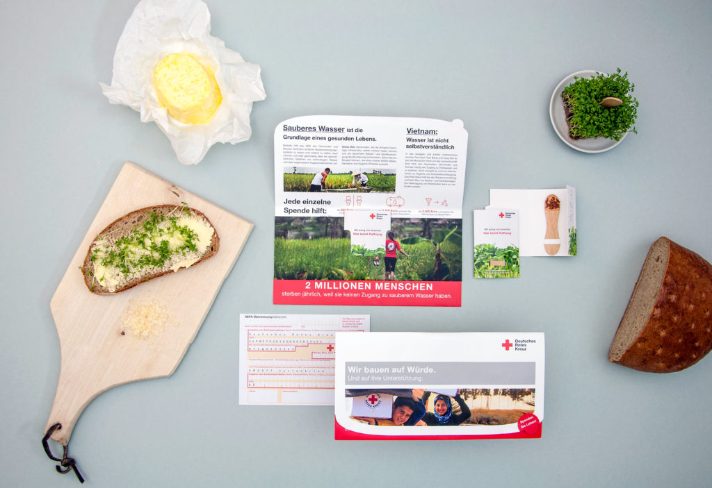 Mailing – Sauberes Wasser (Deutsches Rotes Kreuz, Spendenmailings)