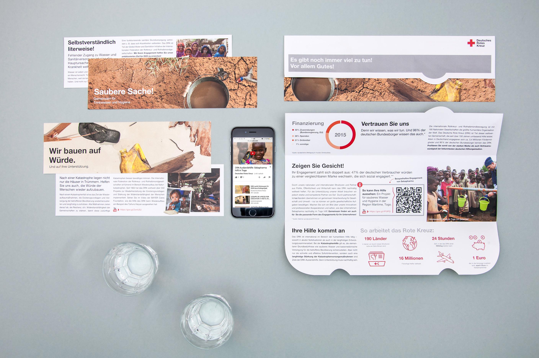 Mailing – Hygiene (Deutsches Rotes Kreuz, Spendenmailings)