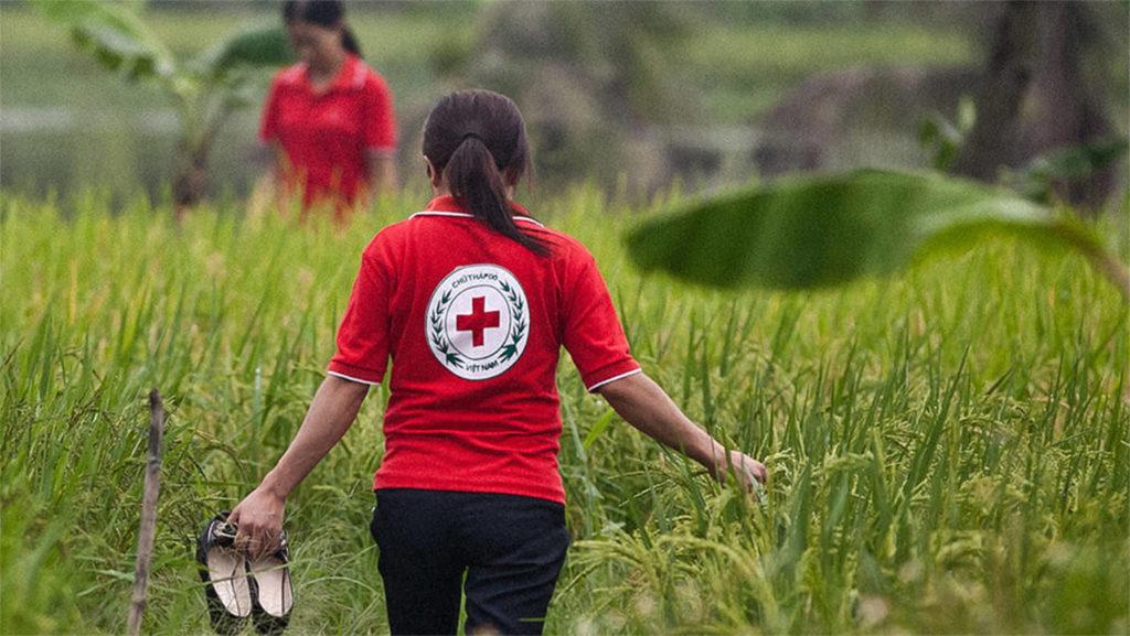 Mitarbeiterin des Vietnamischen Roten Kreuzes (Deutsches Rotes Kreuz, Spendenmailings)