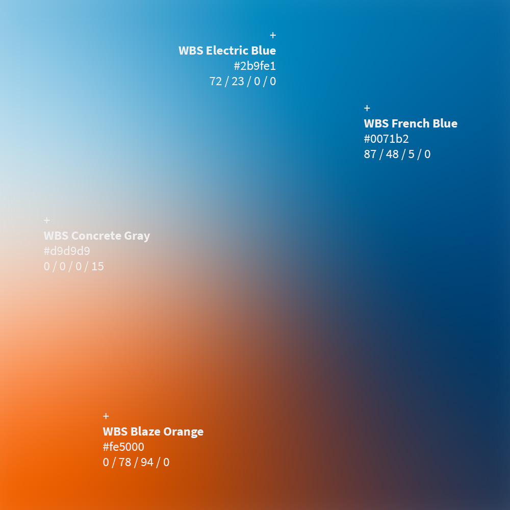 WBS Update 2021 / Slider, Screen wirHub Brand Manangement – Farbspektrum