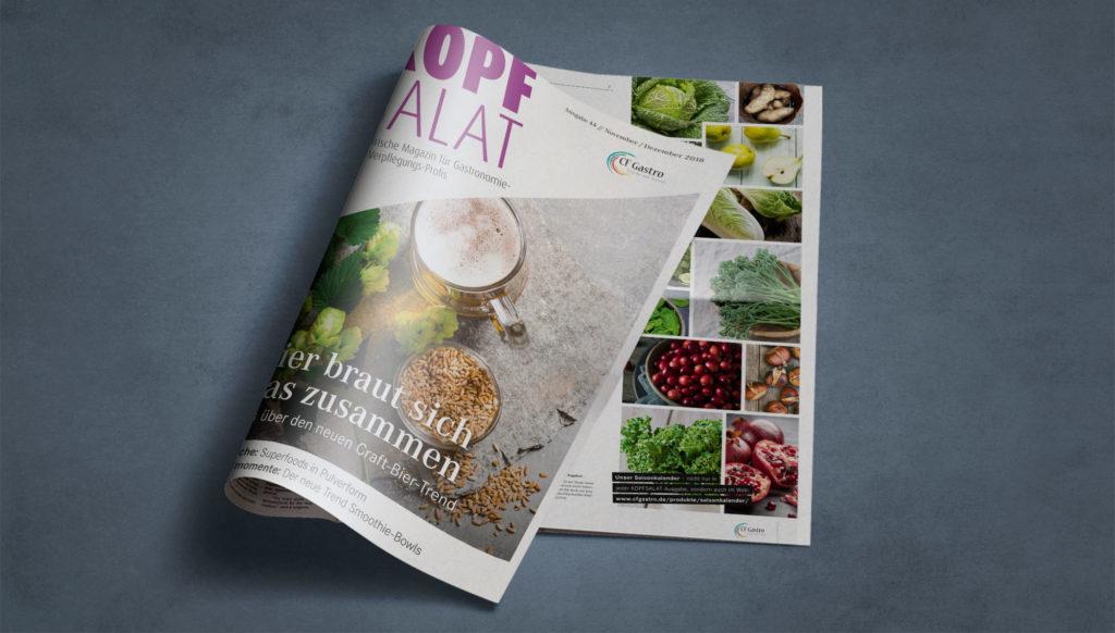 Kopfsalat – Das frische Magazin