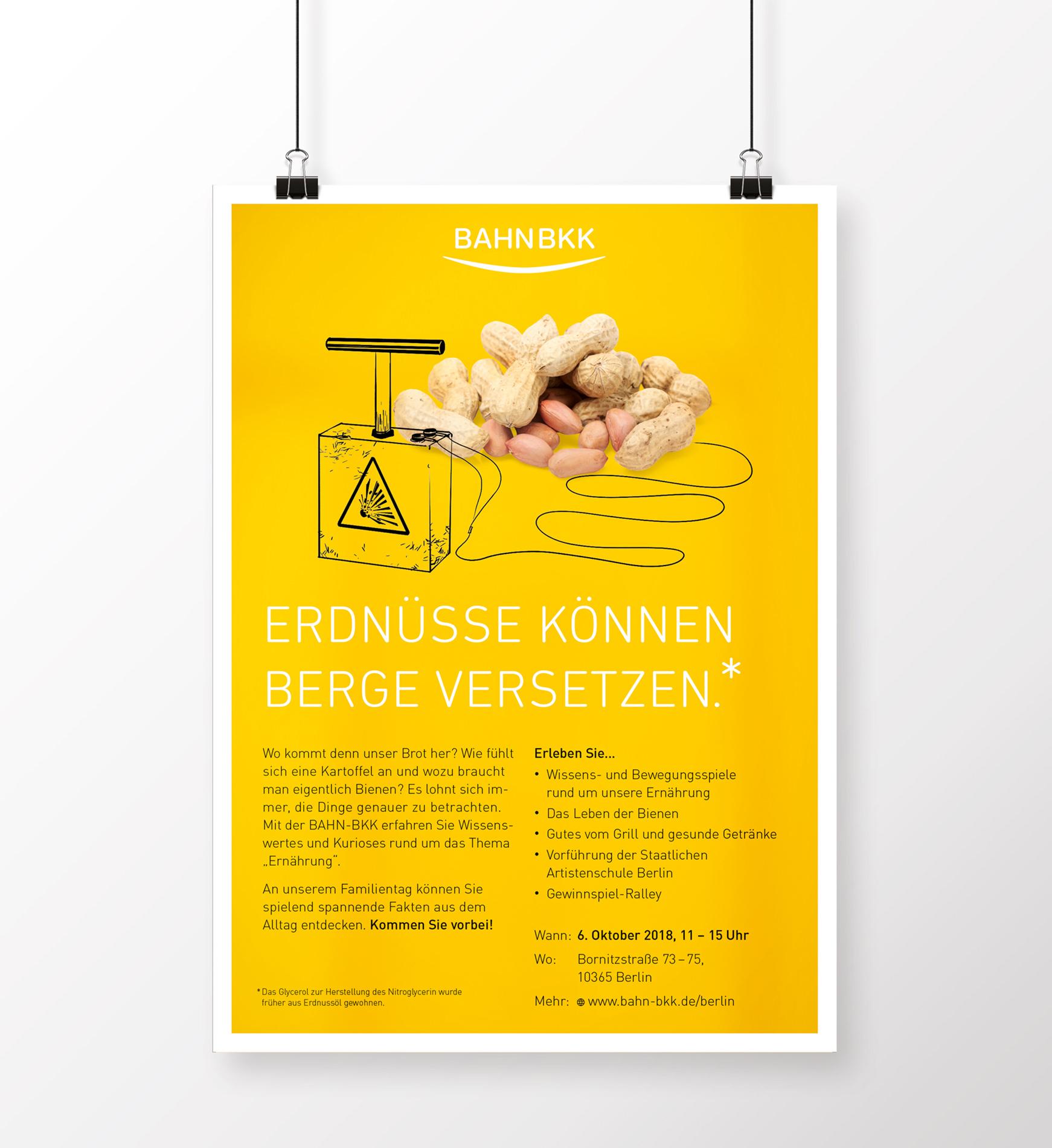 Tag der offenen Tür - Poster 01 (BAHN-BKK, Kampagne)