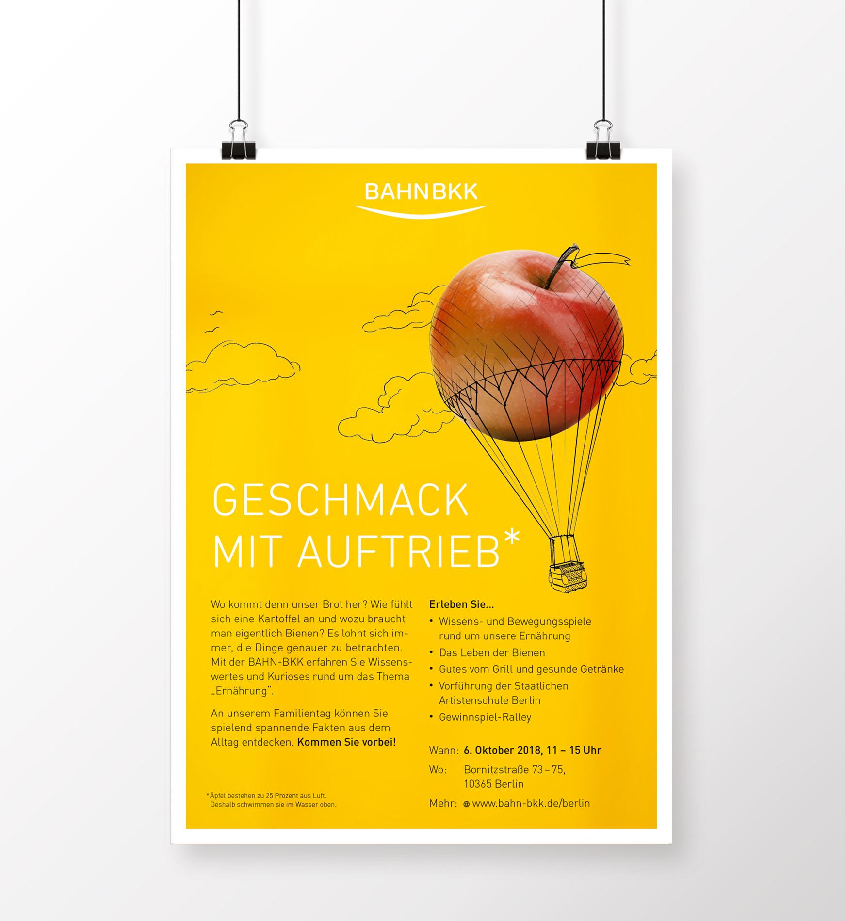 Tag der offenen Tür - Poster 02 (BAHN-BKK, Kampagne)