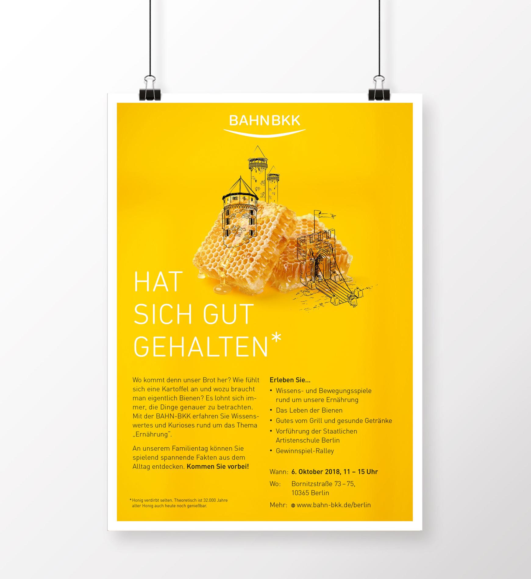 Tag der offenen Tür - Poster 04 (BAHN-BKK, Kampagne)