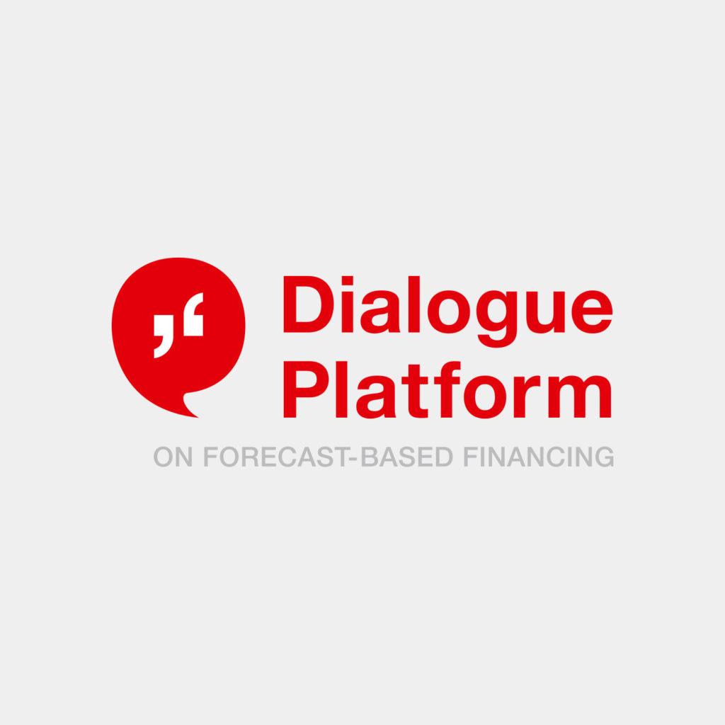 Logo Dialogue Platform (DRK, FbF, Grafikdesign)