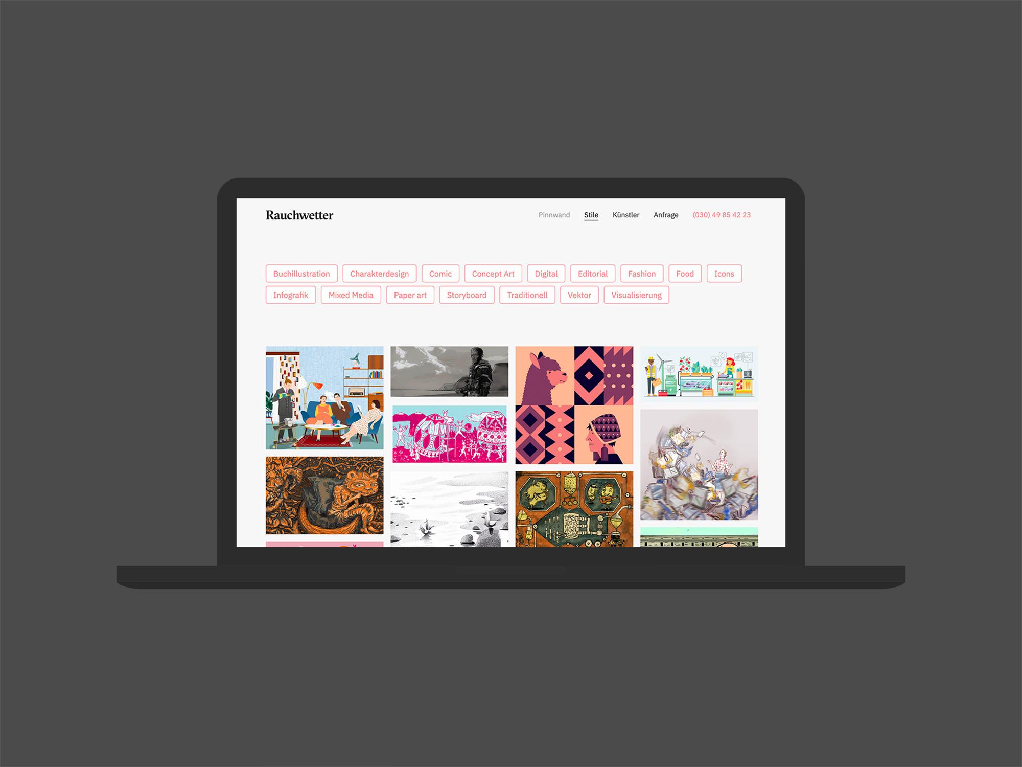Web 03 (Rauchwetter, Corporate Design)