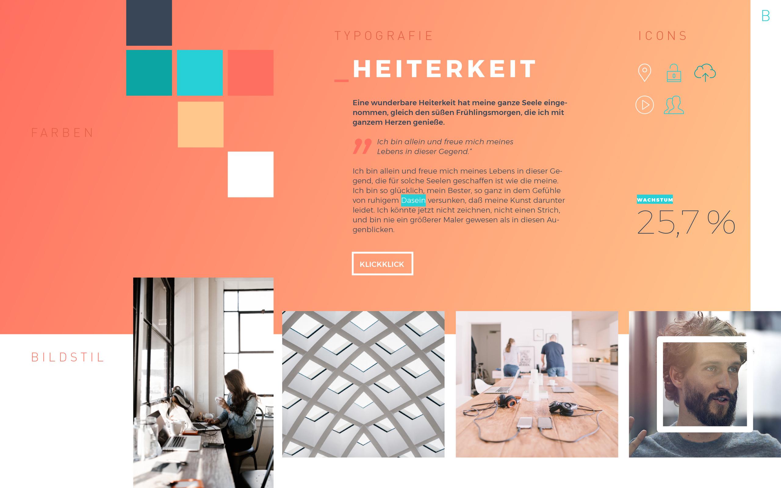 Mood 02(weventure, Corporate Design, UI)