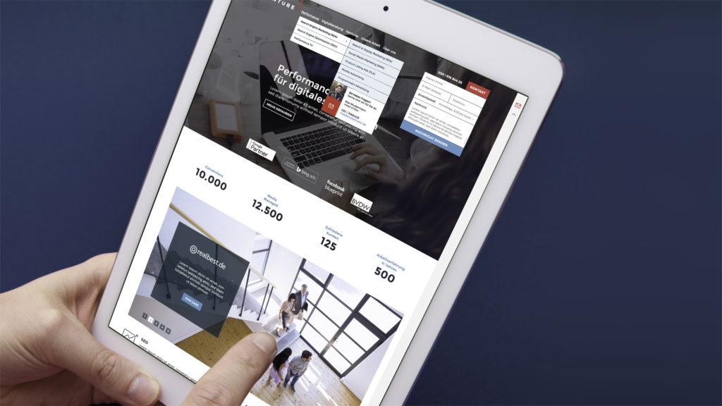 Screen Case (weventure, Corporate Design, UI)