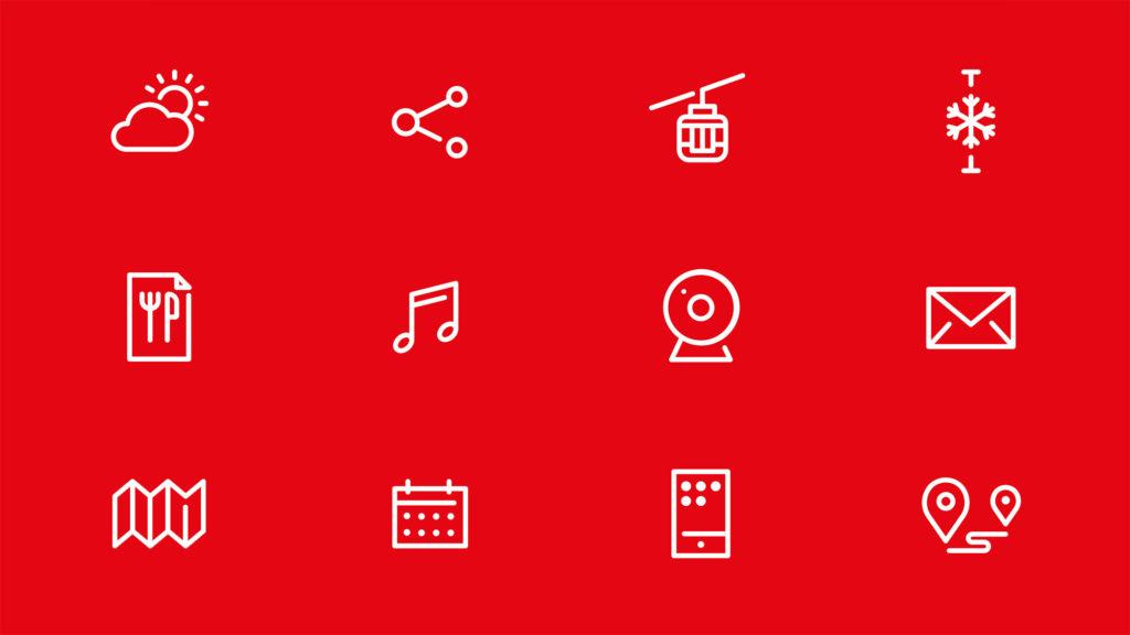 Iconset (Österreich Werbung, Grafikdesign)