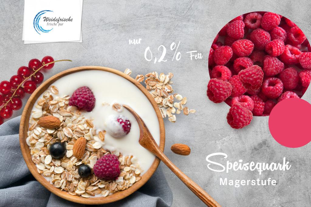 Label: Quark Magerstufe (CF Gastro, Eigenmarke Weidefrische)