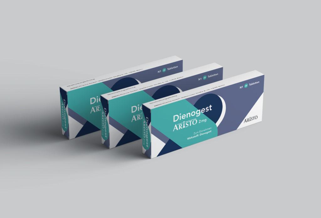Packaging 01 (Aristo, Kampagne Dienogest)
