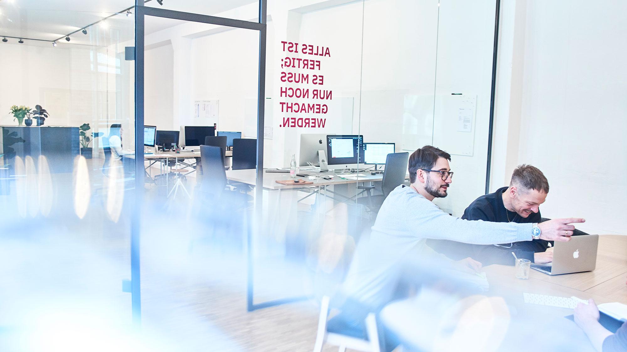 Agile Strukturen – Besprechung im Team