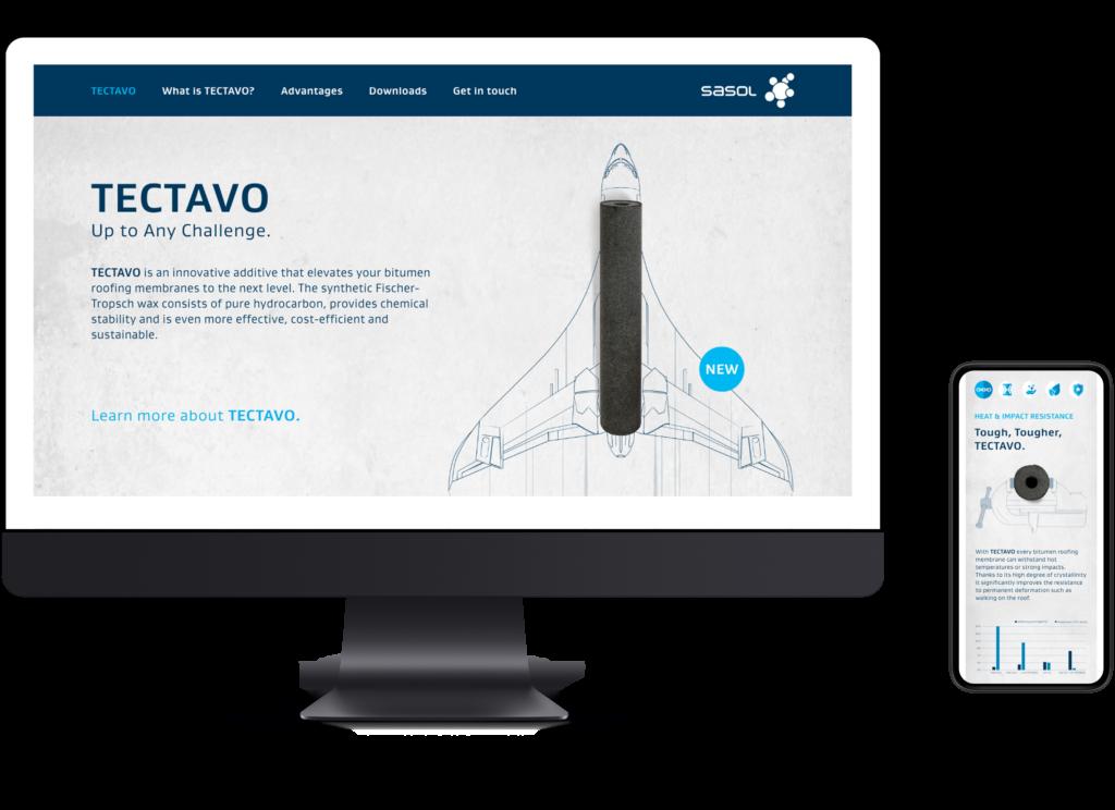 TECTAVO-Webseite