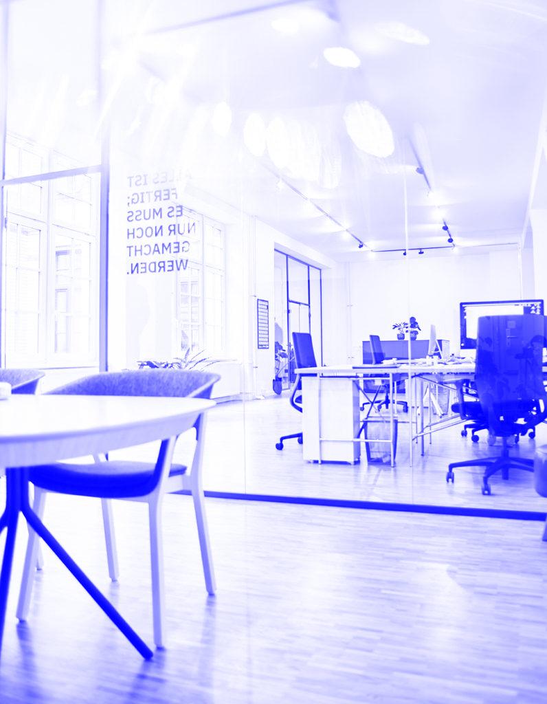 Impression – Office (blau)