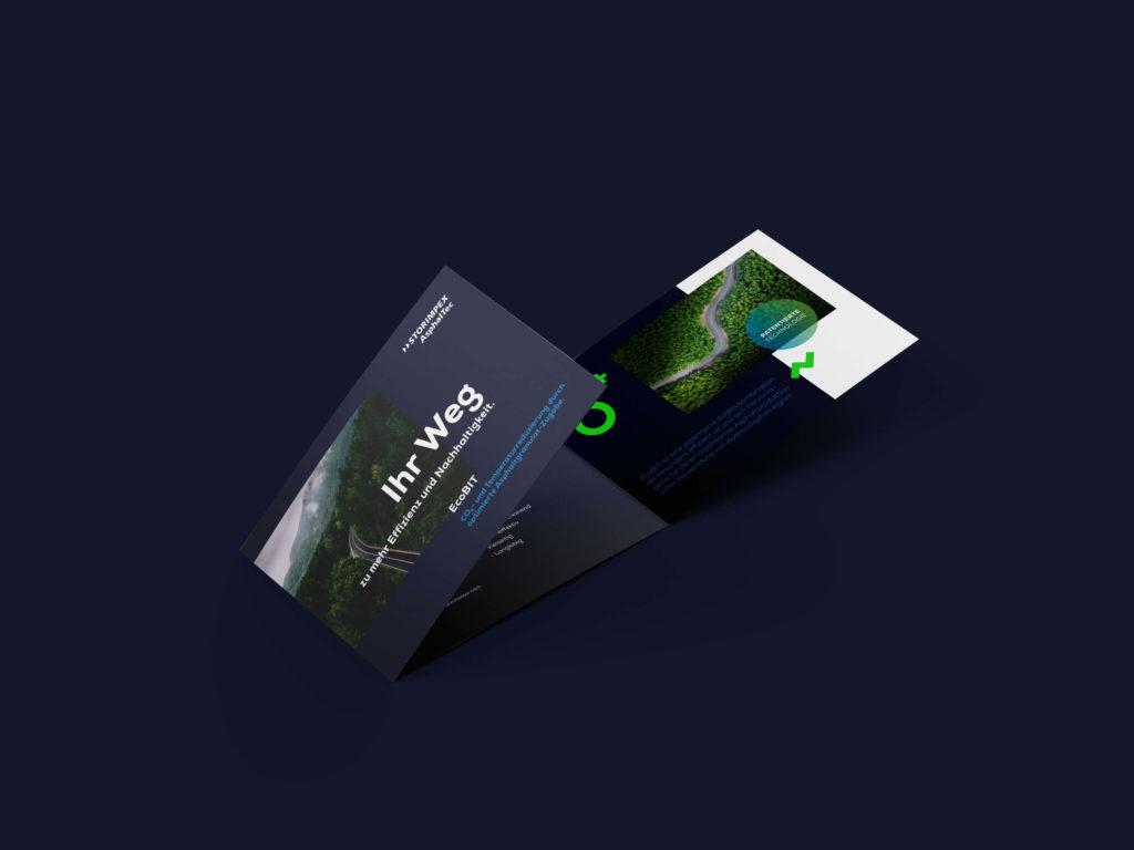 Falzflyer DIN A5 quer (Storimpex Asphaltec, Corporate Design) – Version 02
