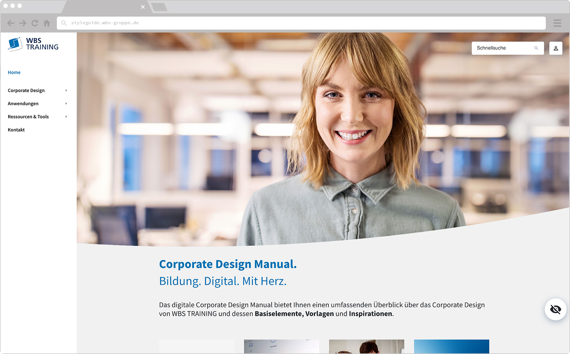 WBS Update 2021 / Slider, Screen wirHub Brand Manangement – Dashboard