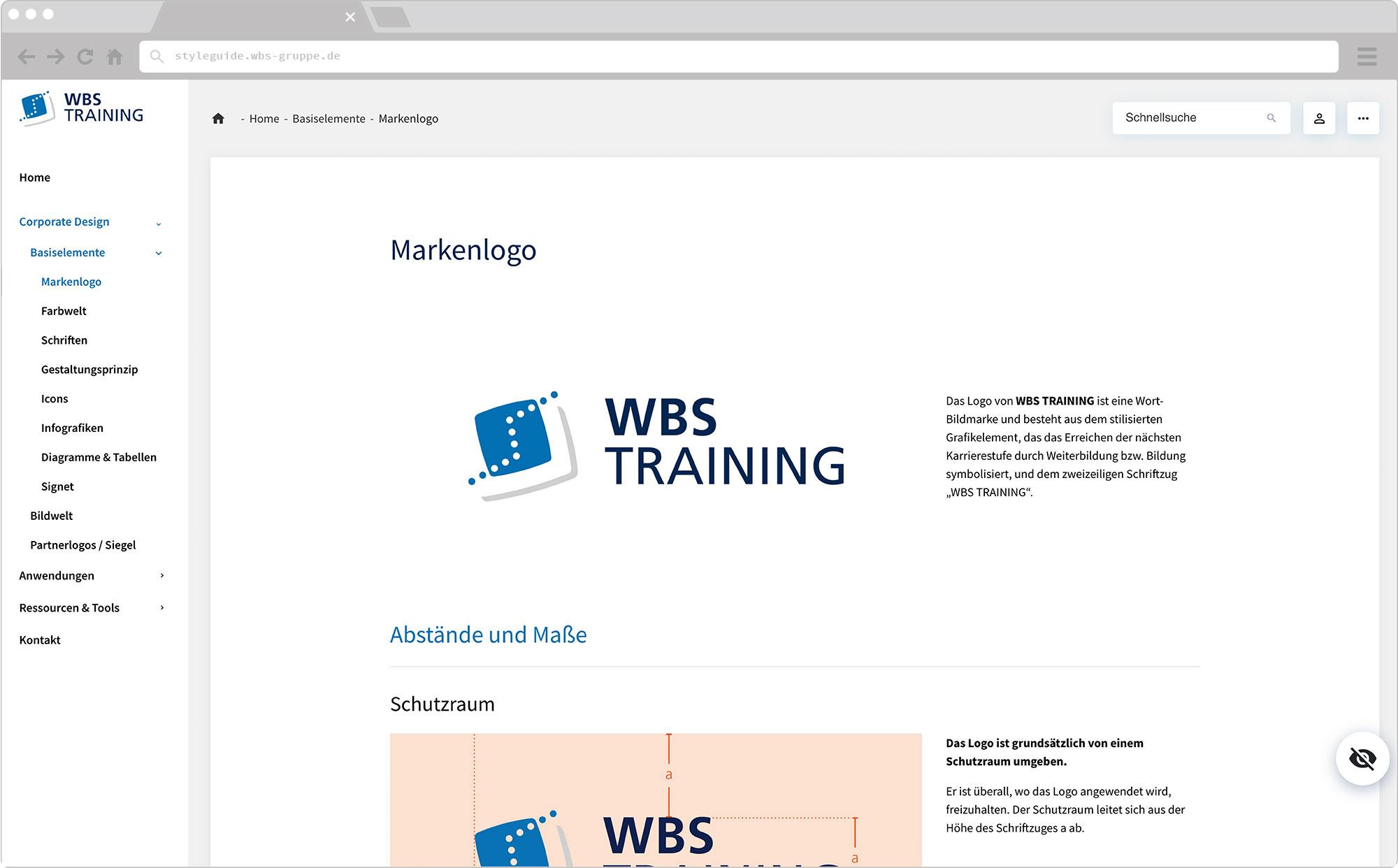 WBS Update 2021 / Slider, Screen wirHub Brand Manangement – Logo